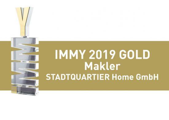 IMMY 2019 Gold STADTQUARTIER